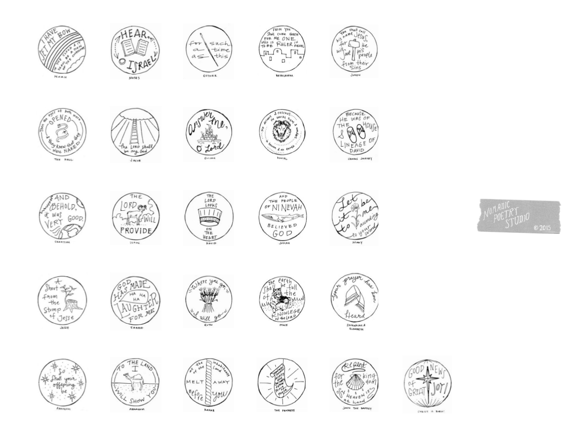 graphic regarding Jesse Tree Symbols Printable titled Jesse Tree No cost Printable Ornaments/Introduction Colouring Web pages